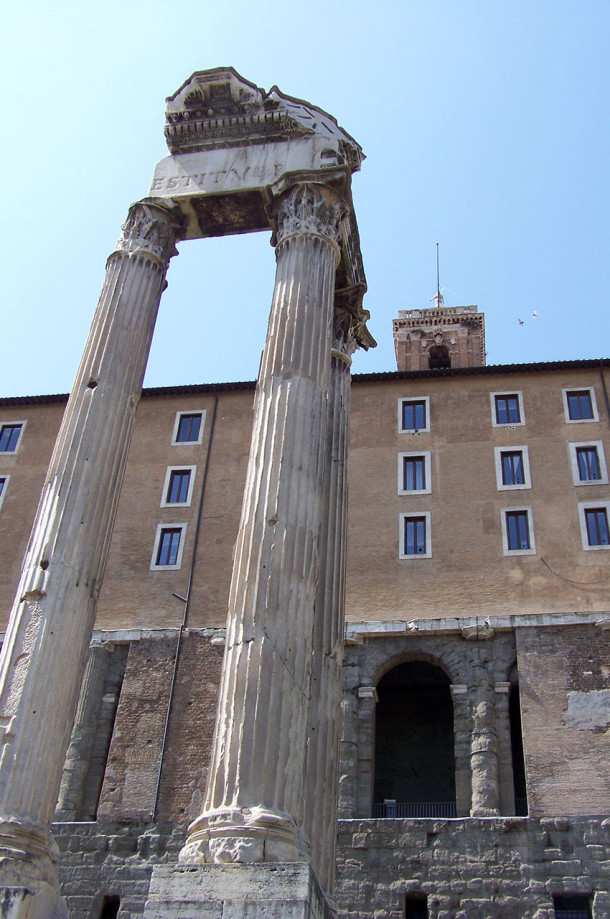 Colonnes Capitole Forum romain