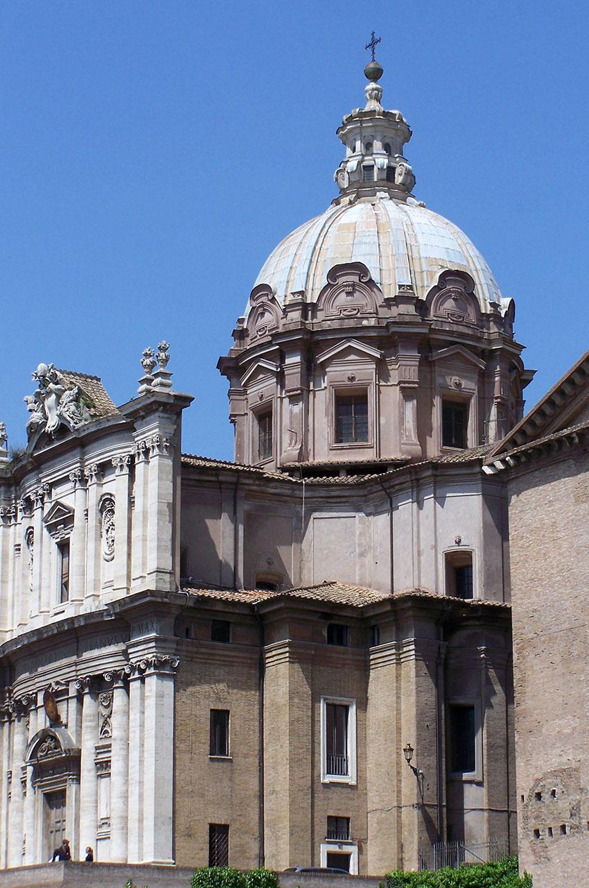 Curie romaine Sénat Église