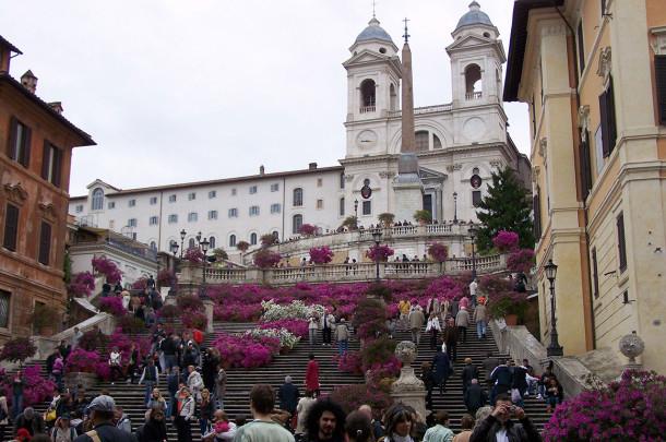 Marches Trinité des Monts Rome