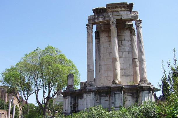 Ruines monuments Forum romain