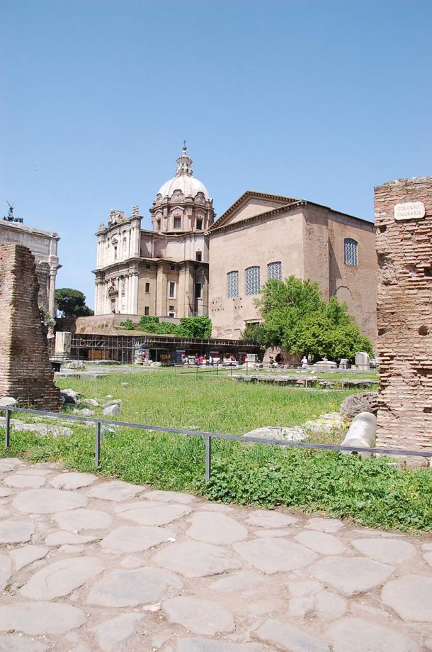 Ruines Forum Romain Rome