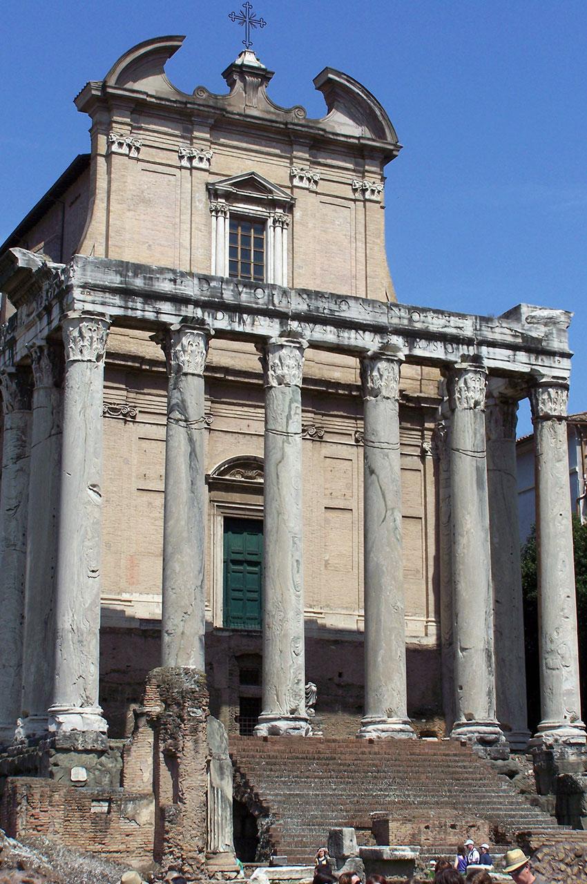 Temple d'Antonin et Faustine