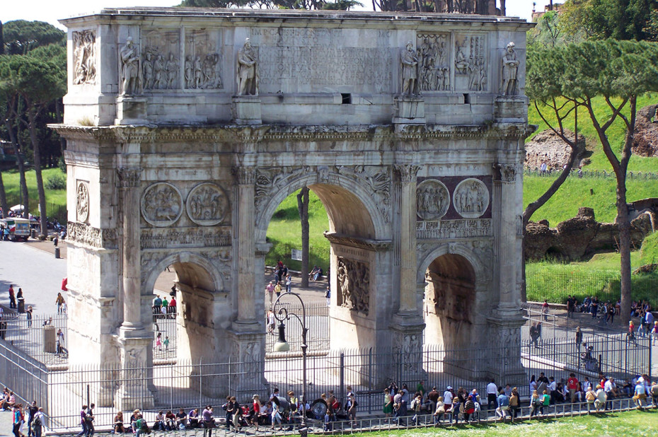 3 arches Arc de Constantin