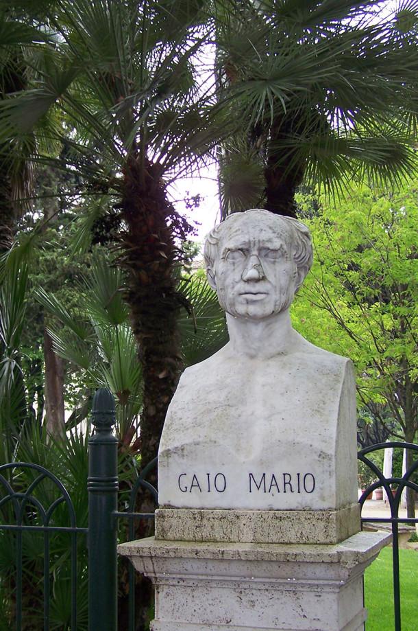 Buste de Gaio Mario à la villa Borghèse