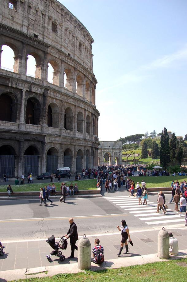 Colisée Rome construction Vespasien
