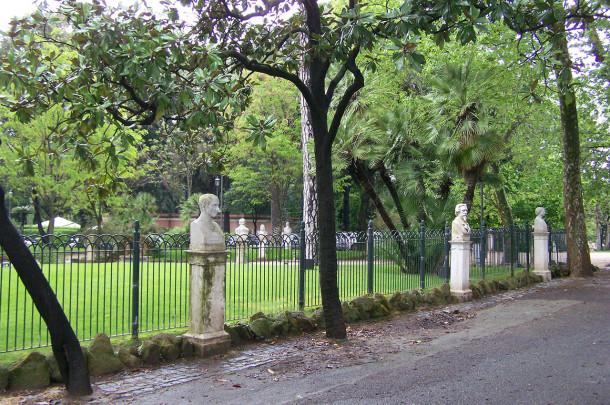 Jardins autour de la villa Borghèse