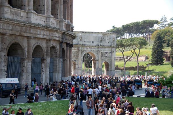 Tarif visite Colisée
