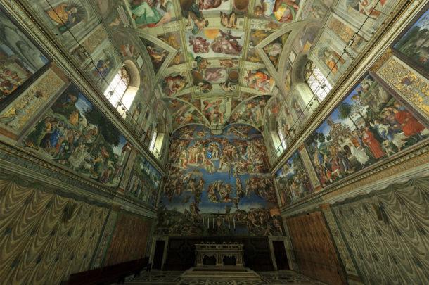 Chapelle Sixtine, visite virtuelle