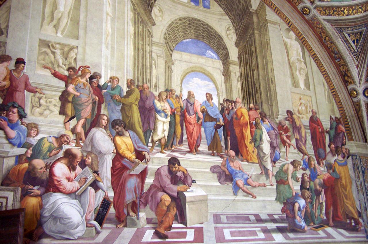 L'école d'Athènes