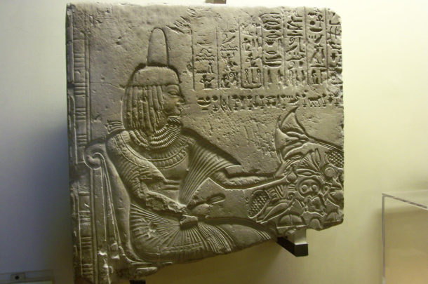 Fragment de relief d'une tombe