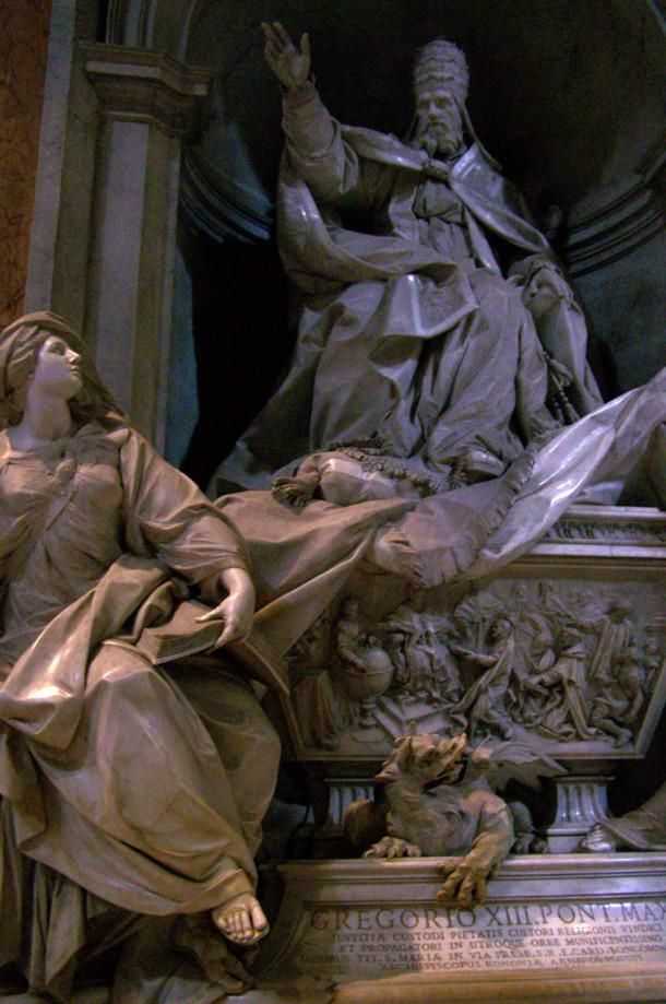 Monument funéraire de Grégoire XIII