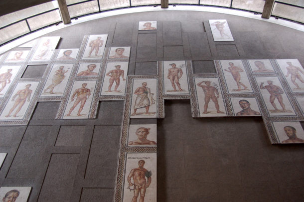 Parterre en mosaïque
