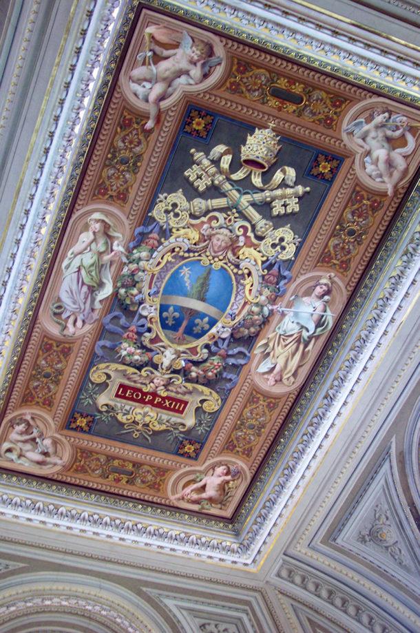 Peinture honneur pape Léon XIII