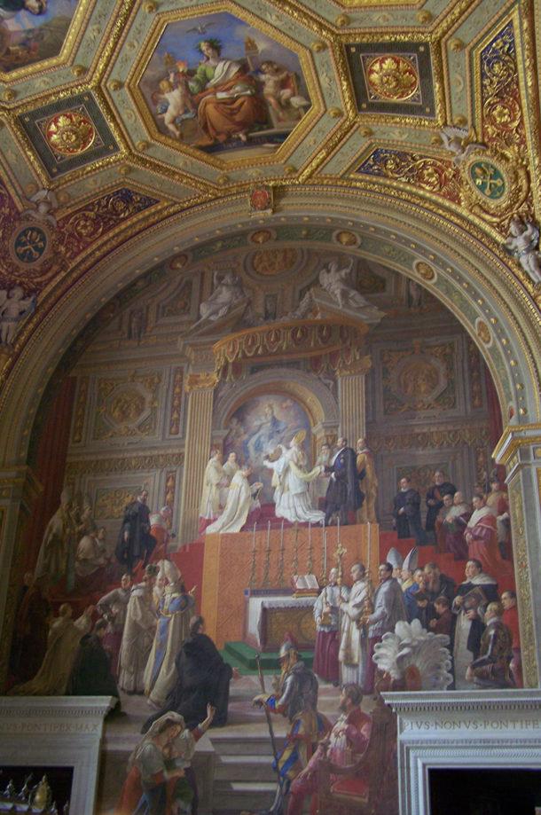 Peinture musées du Vatican