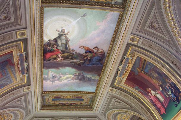 Peinture symbolisant l'Esprit Saint
