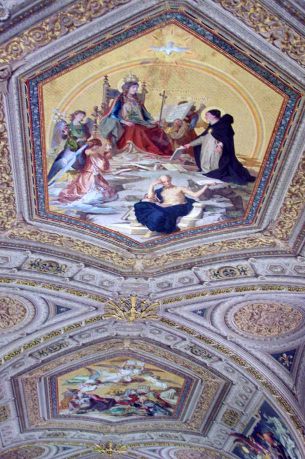 Plafond galerie des Candélables