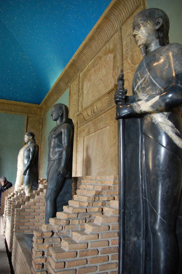 Reconstitution du Canope de la Villa Adriana