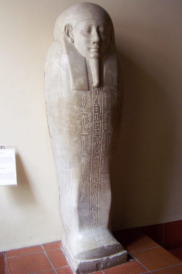 Sarcophage en pierre du prêtre Sema-Tauy