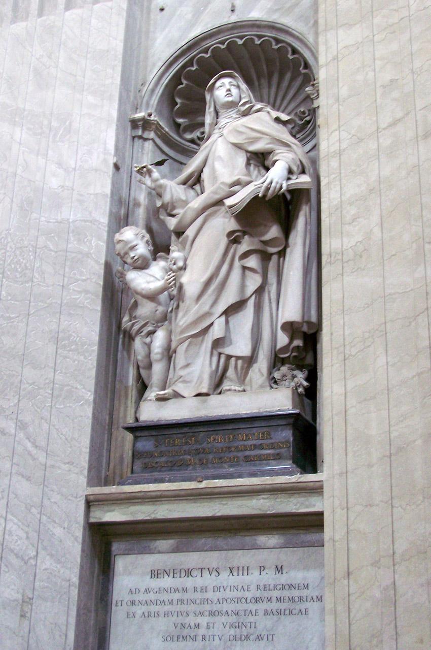 Statue de Sainte-Thérèse d'Avila