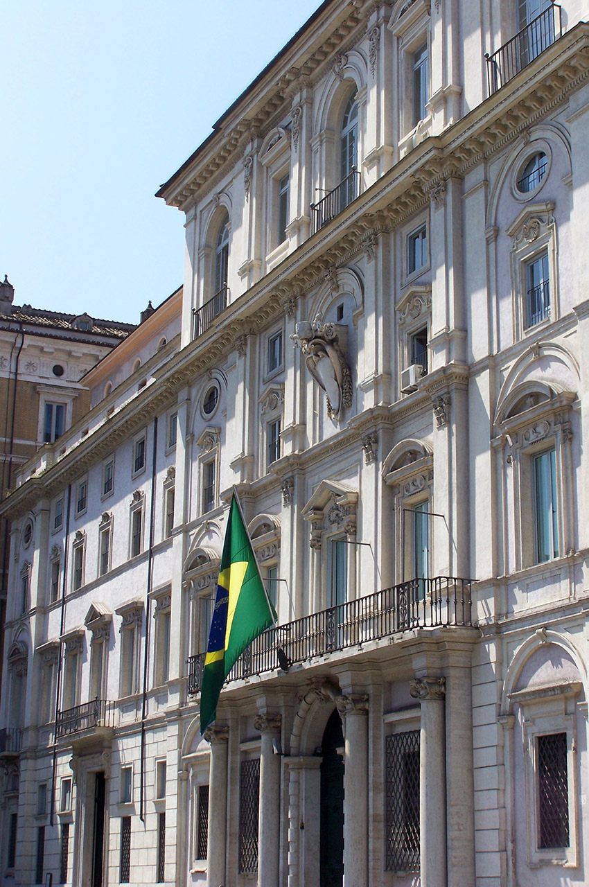 Ambassade du Brésil à Rome