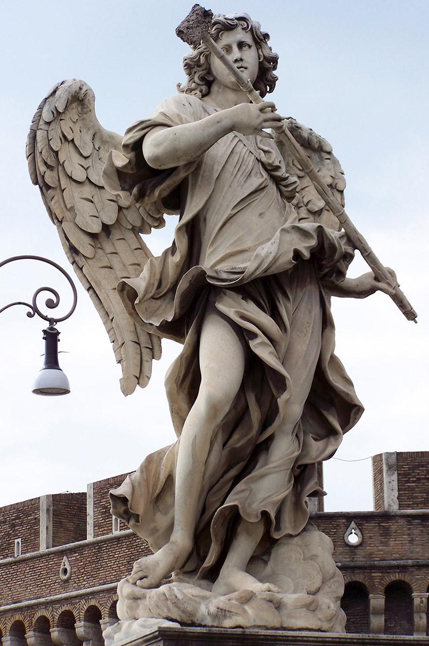 Ange à l'éponge de vinaigre d'Antonio Giorgetti