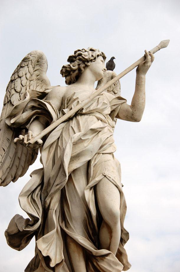 Ange à la lance de Domenico Guidi