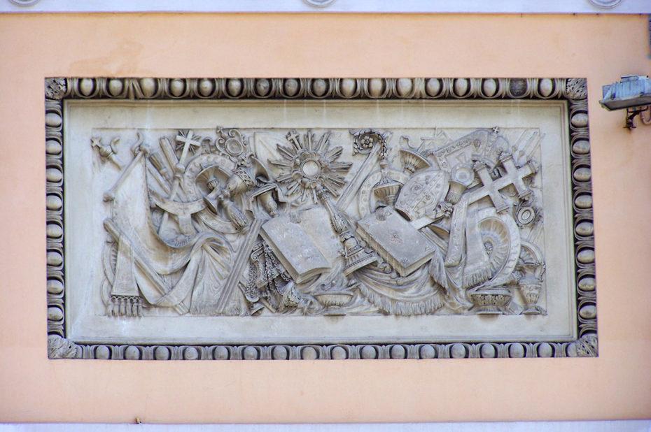 Bas-relief Santa Maria del Popolo