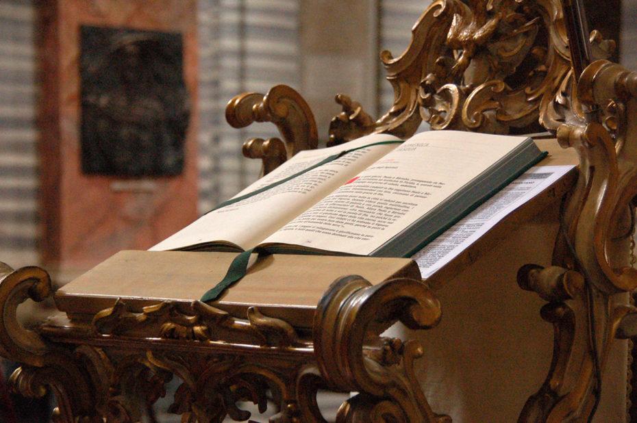 L'Évangile à la basilique Saint-Ambroise Saint-Charles