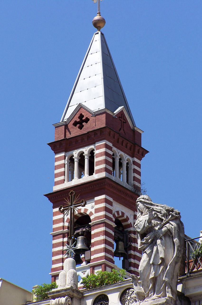 Clocher de l'église Santa Brigitta