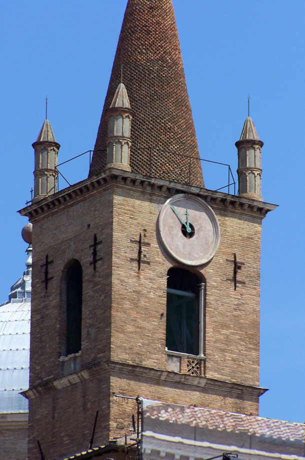 Clocher de l'église Santa Maria del Popolo