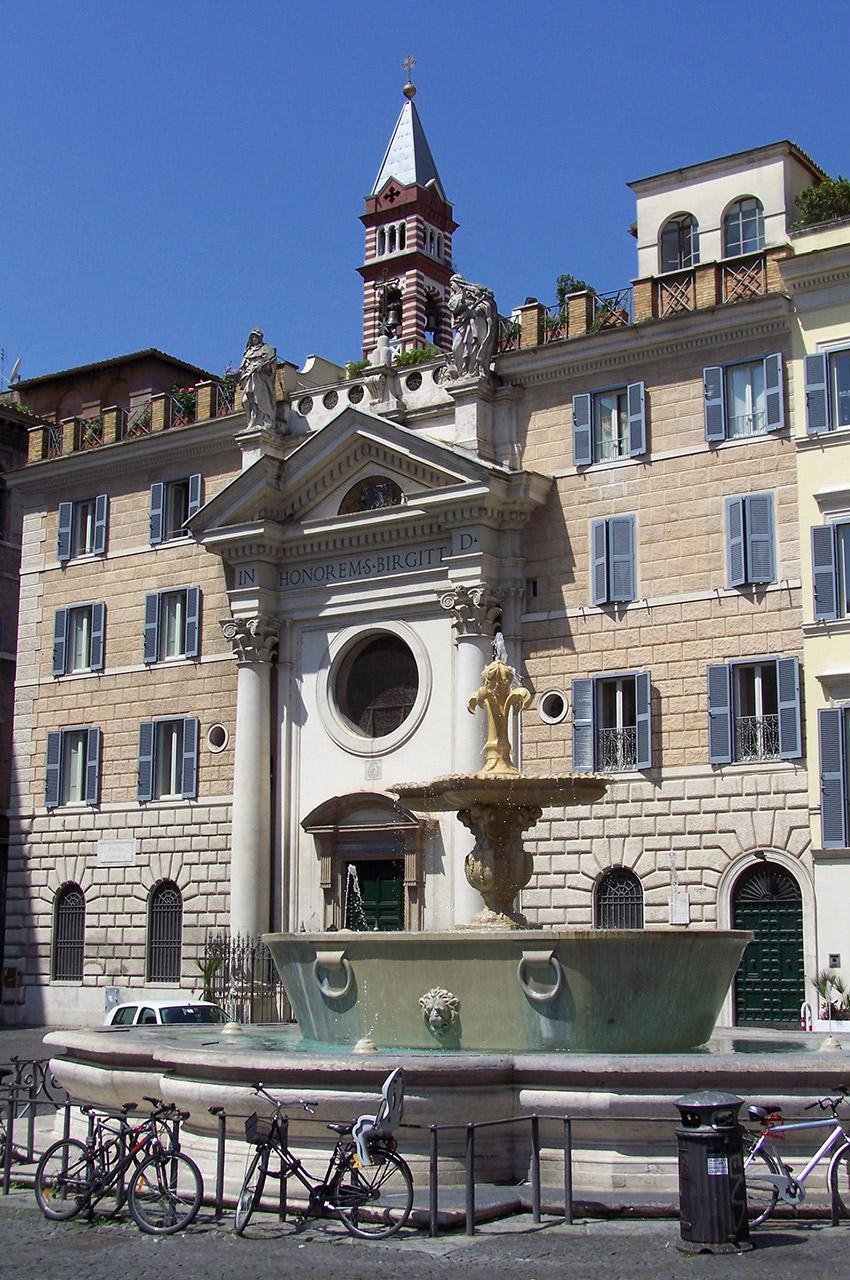 Couvent et église Santa Brigitta