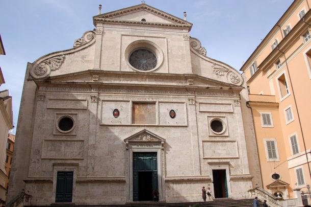 Église Saint-Augustin à Rome