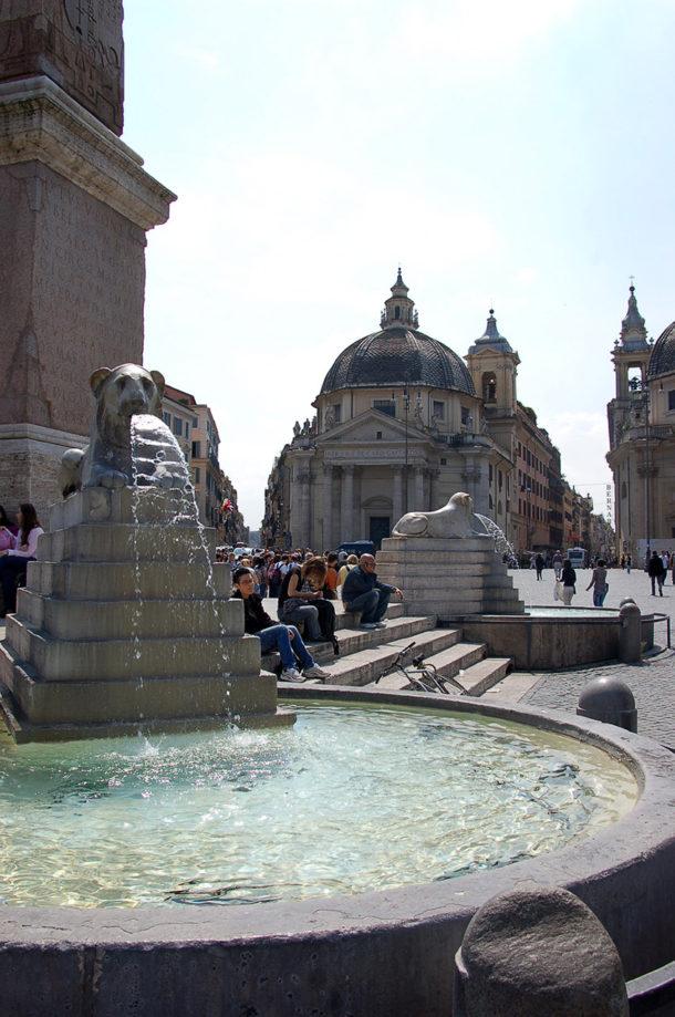 Fontaine Place du Peuple