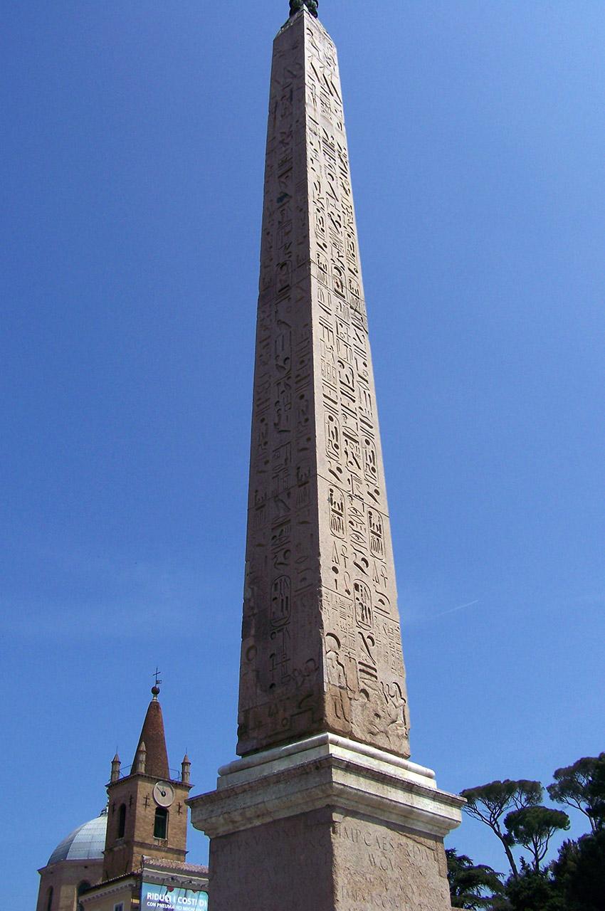 Obélisque Piazza del Popolo