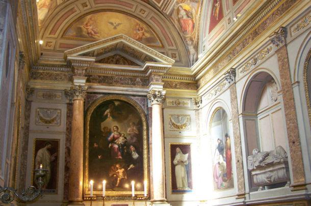 Peintures Fresques Saint-Augustin