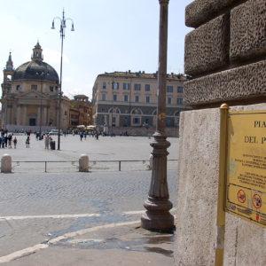 La Piazza del Popolo à Rome