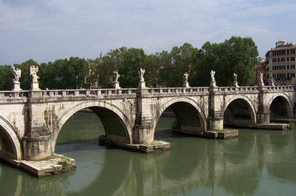 Pont Saint-Ange ou pont aelius