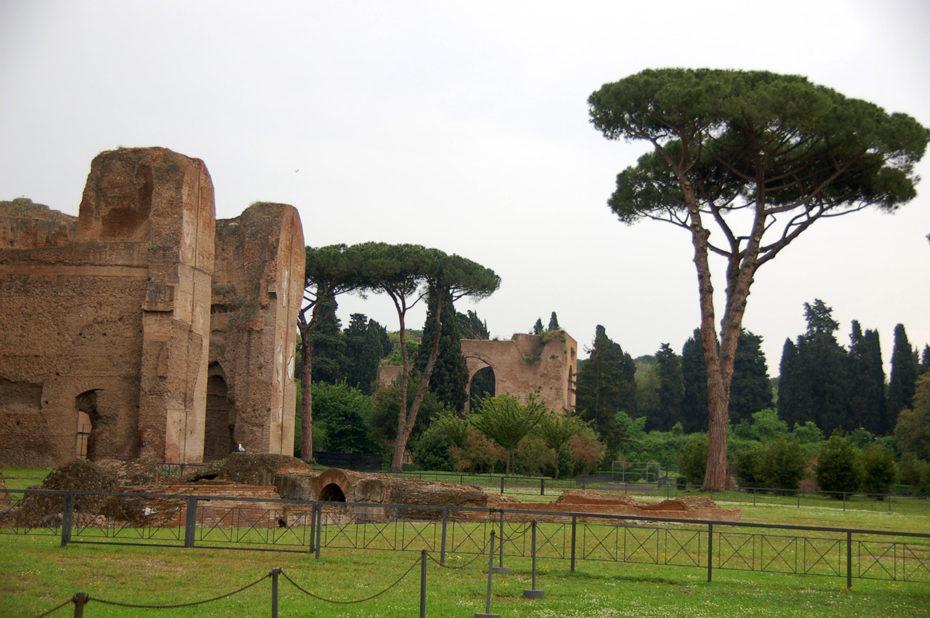 Visite des thermes de Caracalla