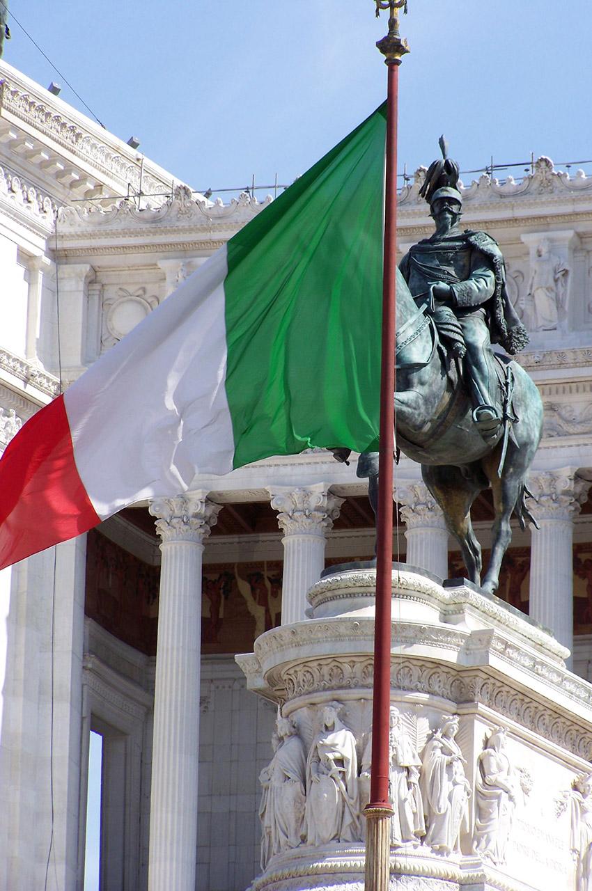 Le Vittoriano, symbole de l'unité italienne
