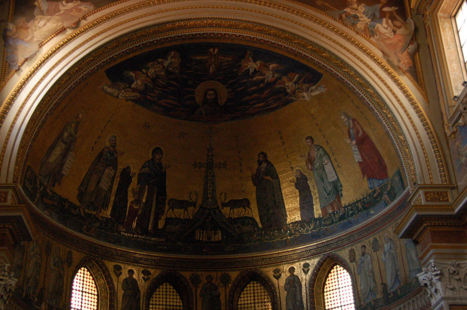 Abside basilique Saint-Jean-de-Latran