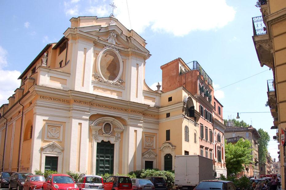 Église Ste-Quarante Martyrs et St-Pascal Baylon
