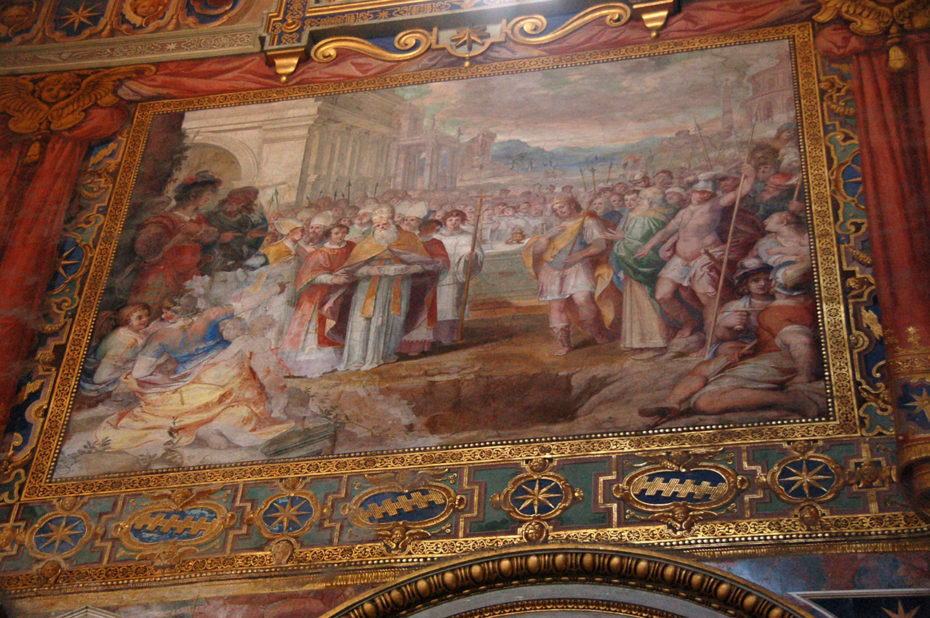 Peinture basilique Saint-Jean-de-Latran