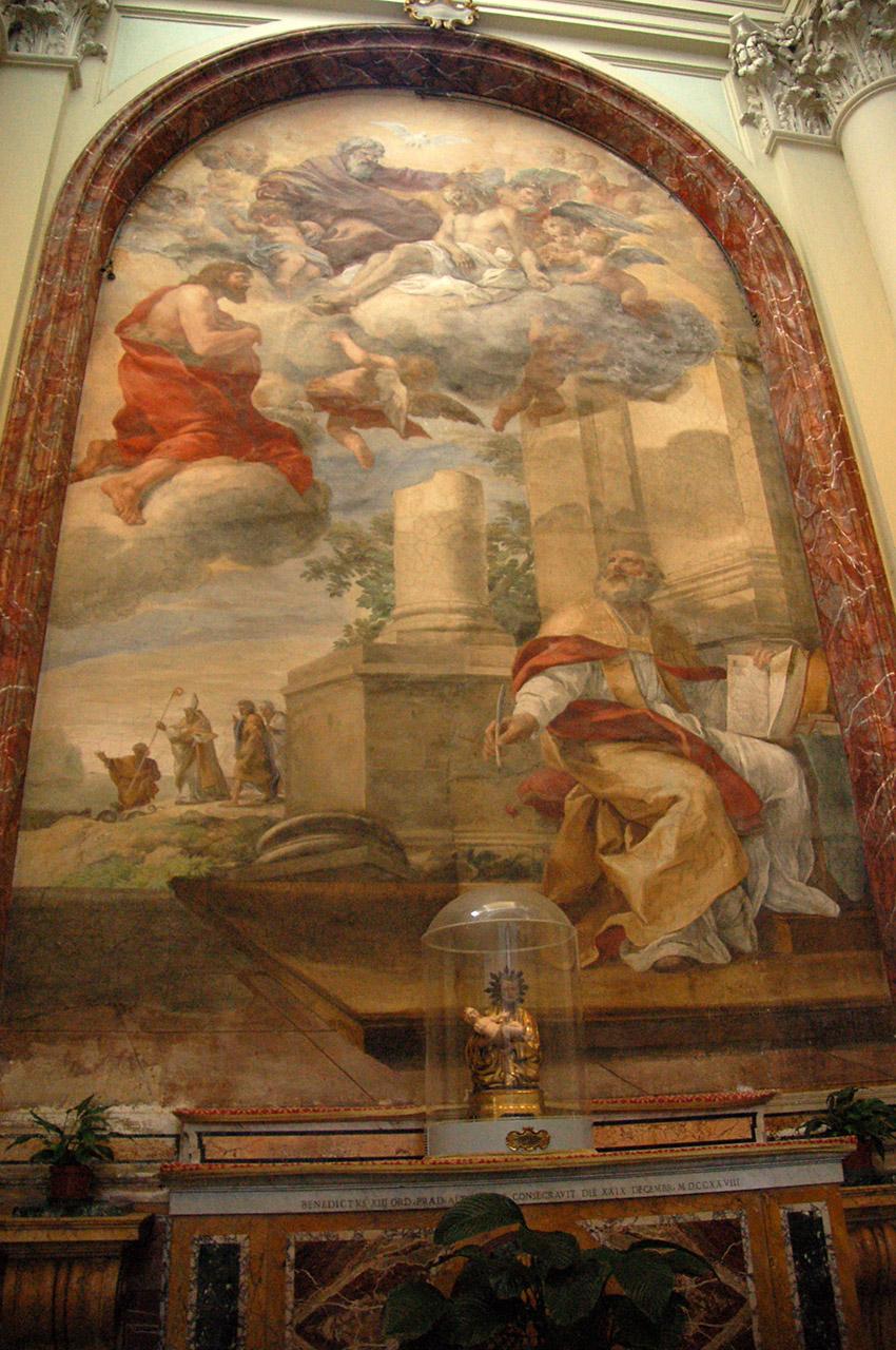 Peinture chapelle de Saint-Jean-de-Latran