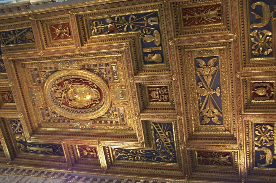 Plafond de la basilique