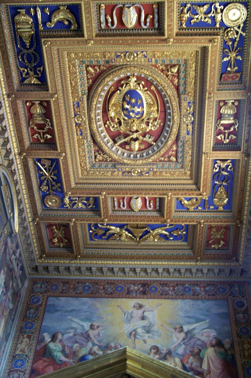 Magnifique plafond de Saint-Jean-de-Latran