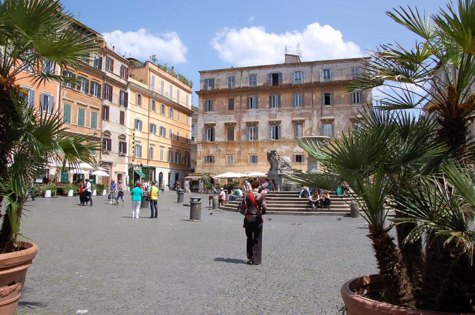 Promenade dans le quartier du Trastevere
