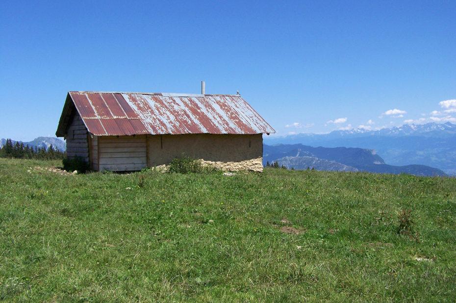 Cabane sous le Tracollet, refuge non gardé