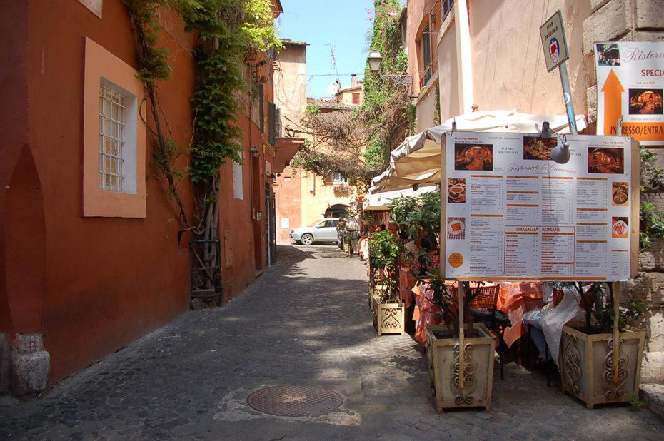 Ruelle colorée Trastevere