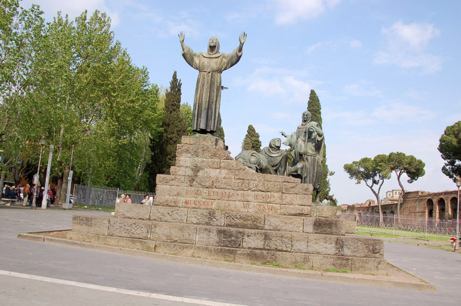 Statue de Saint-François d'Assise