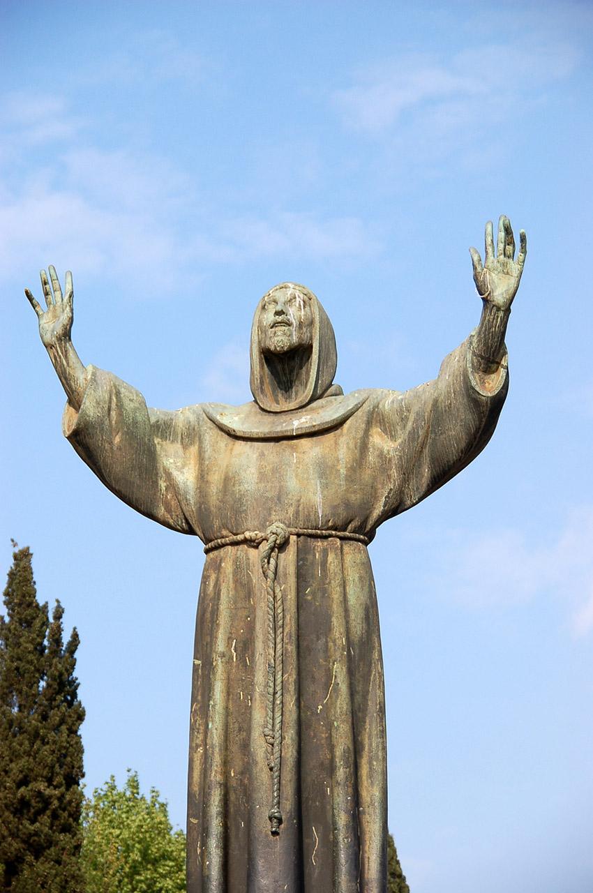 Statue Saint-François d'Assise